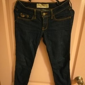 Hollister classic skinny jeans in size 25